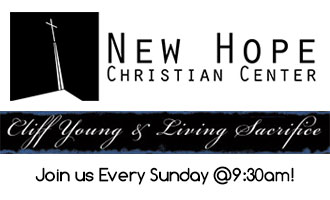 Cliff Young & Living Sacrifice Every Sunday at 9:30AM