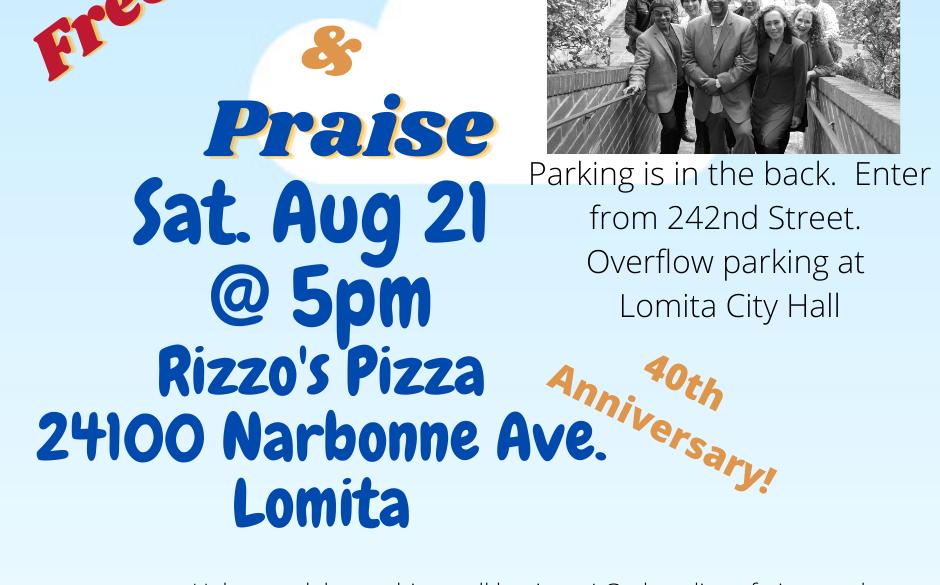 Picnic & Praise @ Rizzo's Pizza